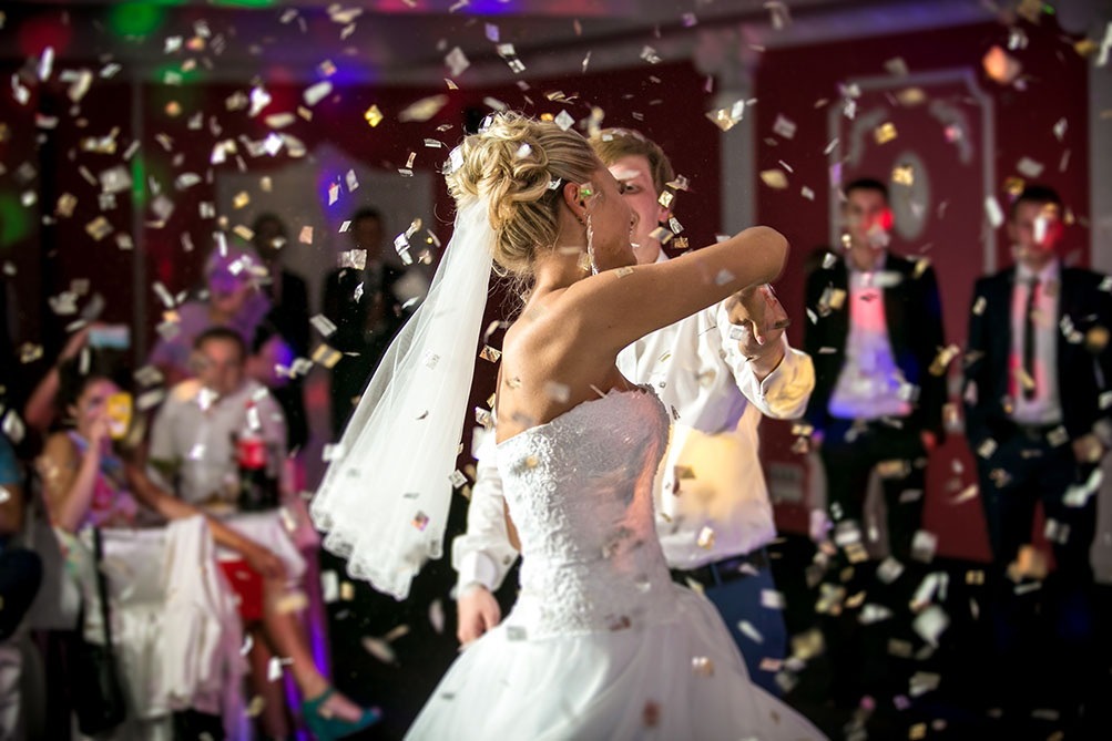 Bryllupsfest med musikk for alle gjester